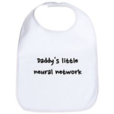 Daddy's little neural network Bib