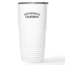 East Porterville California Travel Mug