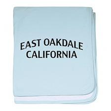 East Oakdale California baby blanket