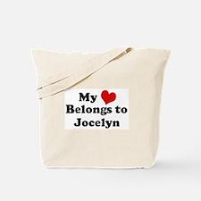 My Heart: Jocelyn Tote Bag