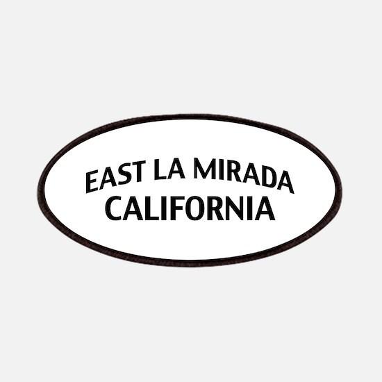 East La Mirada California Patches