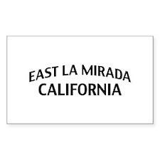 East La Mirada California Decal