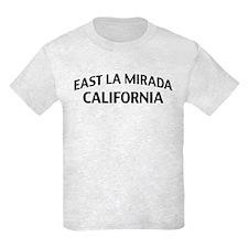 East La Mirada California T-Shirt