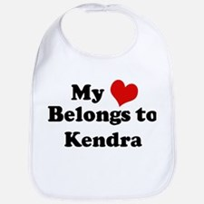 My Heart: Kendra Bib