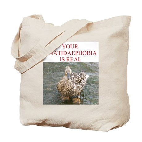 Anatidaephobia Tote Bag