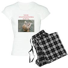 Anatidaephobia Pajamas