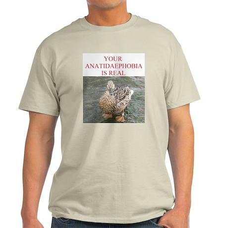 Anatidaephobia Light T-Shirt