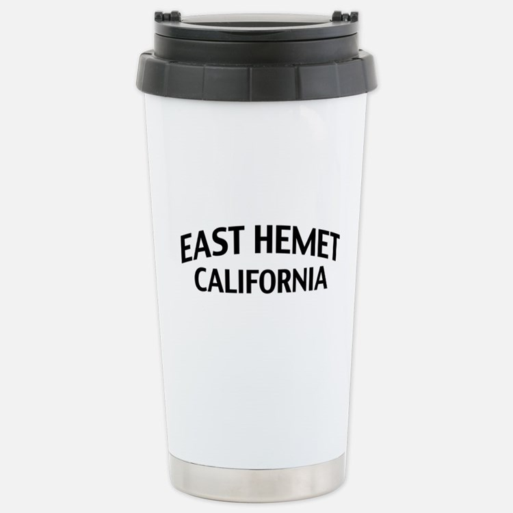 East Hemet California Travel Mug