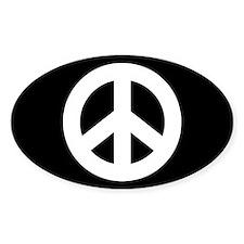 Peace Sign Sticker (black)
