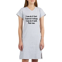 Pick Two Women's Nightshirt