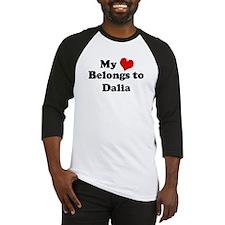 My Heart: Dalia Baseball Jersey