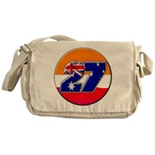 cs27repcircle Messenger Bag