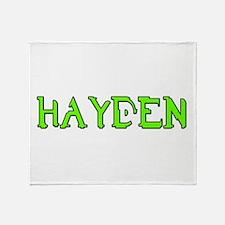 NHhalo Throw Blanket