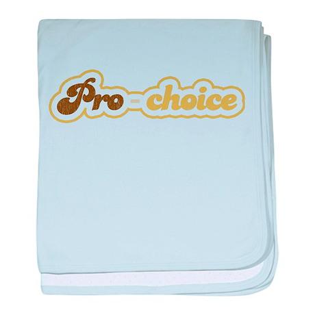 pro-choice baby blanket