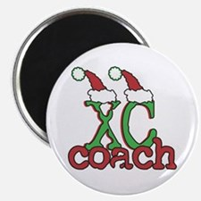 XC Holiday Cross Country Coach Magnet