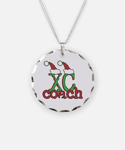 Xc Xmas Cross Country Coach Necklace