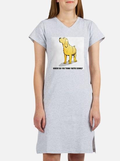 Rude Labrador Retriever Women's Nightshirt