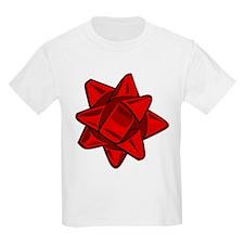 Dark Red Bow T-Shirt
