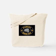 AMA Black/Gold Logo Tote Bag