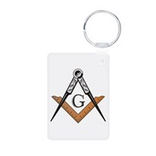 Masonic Square and Compass Keychains