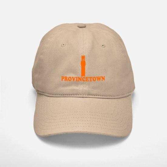 Provincetown MA - Lighthouse Design. Baseball Baseball Cap