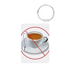 No Tea Party Keychains
