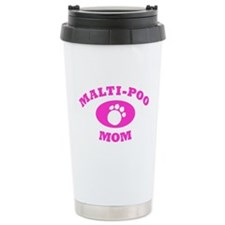 Malti-Poo Mom Travel Coffee Mug