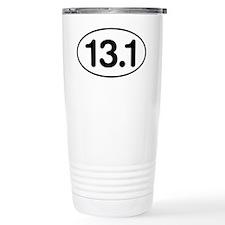 13.1 Half Marathon Oval Travel Mug