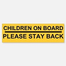 stay back Stickers