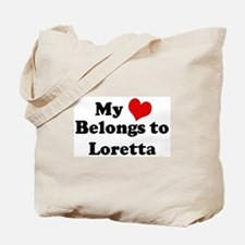 My Heart: Loretta Tote Bag