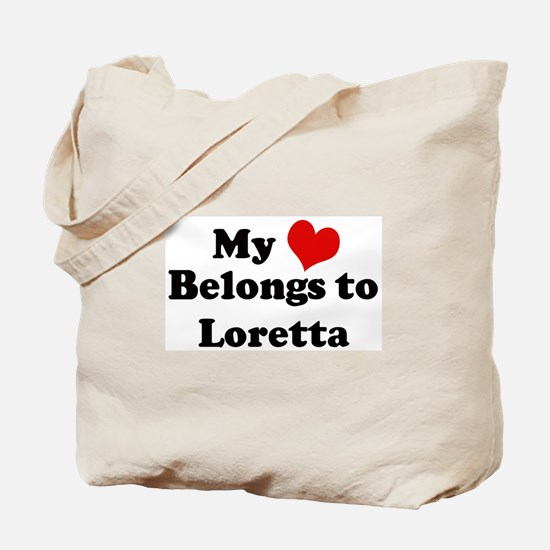 My Heart: Loretta Tote Bag