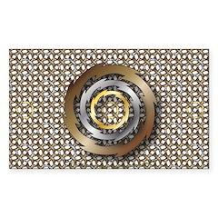 Thunder Sticker (Rectangle 50 pk)