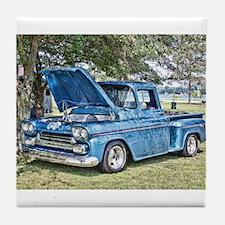 Blue Truck Tile Coaster