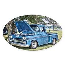 Blue Truck Decal