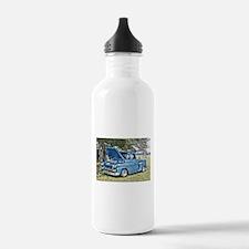 Blue Truck Water Bottle