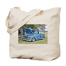 Blue Truck Tote Bag