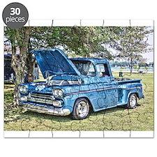 Blue Truck Puzzle