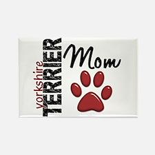 Yorkshire Terrier Mom 2 Rectangle Magnet (100 pack