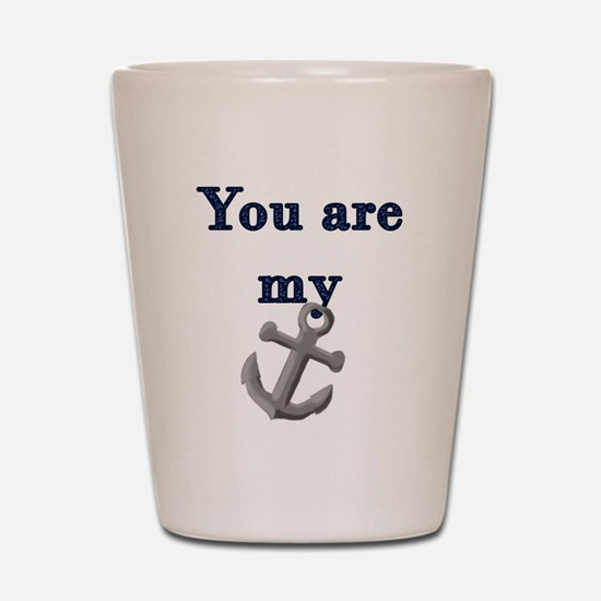 Cute Relationship Shot Glass