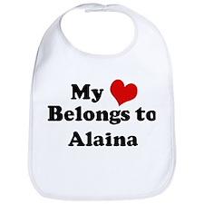My Heart: Alaina Bib