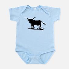 Texas Longhorn Silhouette Infant Bodysuit