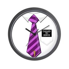 Called to Serve Mission Tag P Wall Clock