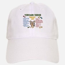 Yorkshire Terrier Property Laws 4 Baseball Baseball Cap