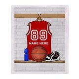Basketball Fleece Blankets