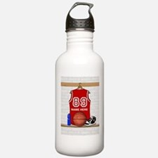 Personalized Basketball Jerse Sports Water Bottle