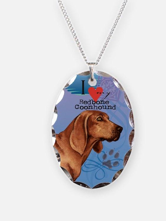 Redbone Coonhound Necklace