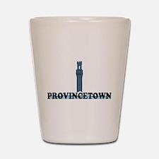 Provincetown MA - Lighthouse Design. Shot Glass