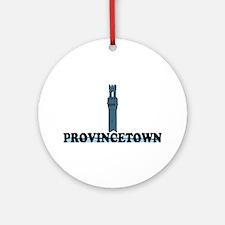 Provincetown MA - Lighthouse Design. Ornament (Rou