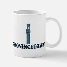 Provincetown MA - Lighthouse Design. Small Small Mug