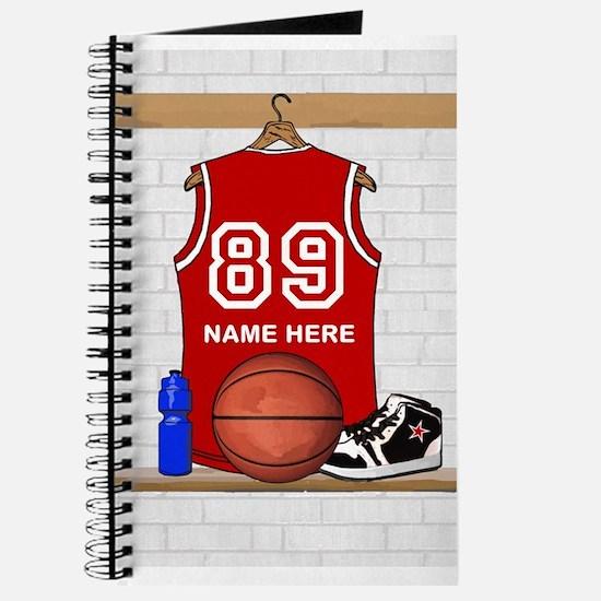 Personalized Basketball Jerse Journal